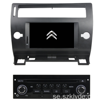 Android Citroen C4 2005-2011 Bil multimedia spelare